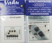 Yahu YMA7280 RWD-8 PWS (IBG) 1:72