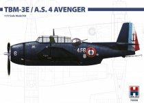 Hobby 2000 72036 TBM-3E / A.S. Mk. IV  ( Hasegawa ) 1/72