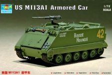 Trumpeter 07238 US M 113A1 Armored Car (1:72)