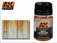 AK Interactive AK 013 Rust Streaks 35ml