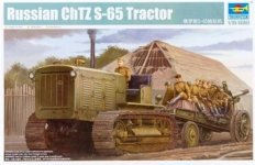 Trumpeter 05538 Russian ChTZ S-65 Tractor (1:35)