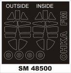 Montex SM48500 MXY 7 OHKA FINE MOLDS 1/48