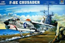 Trumpeter 02272 F-8E Crusader (1:32)