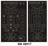 Montex SM48517 FOKKER G-1 MIKROMIR 1/48