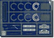 Hasegawa QG1 (72101) Photoetched Parts for Corrola 1:24