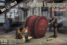 Das Werk DW35015 German Kugelpanzer 2 kits 1/35