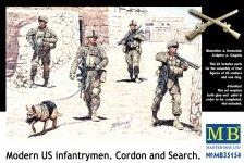 Master Box 35154 Modern US infantrymen Cordon and Search (1:35)