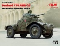 ICM 35373 Panhard 178 AMD-35 WWII French Armored Vehicle (1:35)