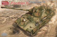 Amusing Hobby 35A012 Panther II Prototype Design Plan (1:35)