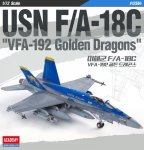 Academy 12564 F/A-18C VFA-192 Golden Dragons 1/72