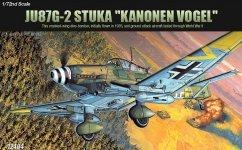 Academy 12404 JU87G-2 STUKA (KANONEN VOGEL) (1:72)