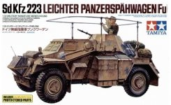 Tamiya 35268 German Armored Car Sd.Kfz.223 w/Photo Etched Parts (1:35)