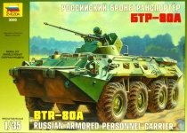 Zvezda 3560 Russian BTR-80A Personnel Carrier (1:35)