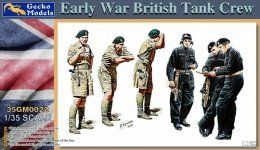 Gecko Models 35GM0022 Early War British tank crew 1/35