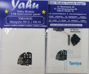 Yahu YMA4830 Mosquito Nf.II & FB.VI (Tamiya) 1:48