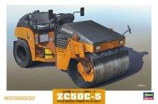 Hasegawa WM02 HITACHI VIBRATORY COMBINED ROLLER ZC50C-5 (1:35)
