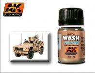AK Interactive AK 121 Oif  Oef - Us Vehicles Wash 35ml