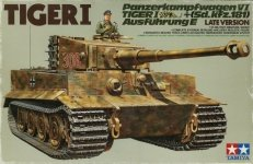 Tamiya 35146 German Tiger I Tank Late Version (1:35)