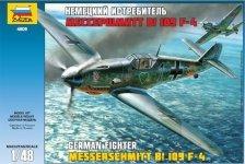 Zvezda 4806 Messerschmitt Bf 109 F4 (1:48)