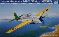 Trumpeter 02255 F4F-3 Wildcat early (1:32)