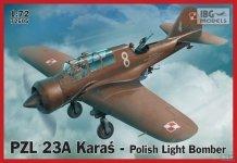 IBG 72505 PZL 23A Karaś Polish Light Bomber (1:72)