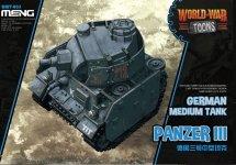 Meng Model WWT-005 World War Toons Panzer III