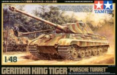 Tamiya 32539 King Tiger Porsche (1:48)