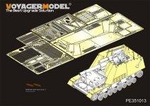 Voyager Model PE351013 WWII German Sd.Kfz.165 Hummel Amour Plate/FendersFor TAMIYA 35367 1/35