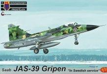 """Kovozavody Prostejov KPM0162 JAS-39 Gripen """"In Swedish service"""" 1/72"""