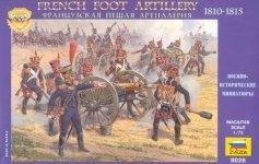 Zvezda 8028 French Foot Artillery (1:72)