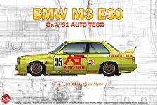 NuNu 24014 BMW M3 E30 Group A 1991 Auto Tech 1/24
