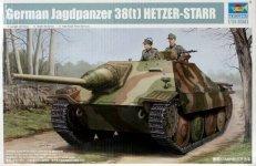 Trumpeter 05524 German Jagdpanzer 38(t) Hetzer-Starr (1:35)