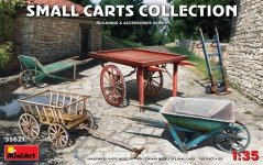 Miniart 35621 Small Carts Collection 1/35