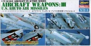 Hasegawa X72-3 US Aircraft weapons III (1:72)