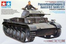 Tamiya 35292 German Panzerkampfwagen II Ausf.A/B/C (1:35)