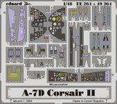 Eduard FE264 A-7D 1/48 Hasegawa