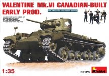 MiniArt 35123 Valentine Mk. VI early production (Canadian Build) (1:35)