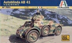 Italeri 7051 AUTOBLINDA AB41 (1:72)