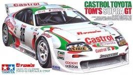Tamiya 24163 Castrol Toyota Tom's Supra GT (1:24)