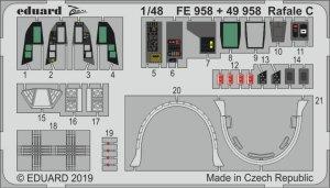 Eduard 49958 Rafale C interior 1/48 REVELL