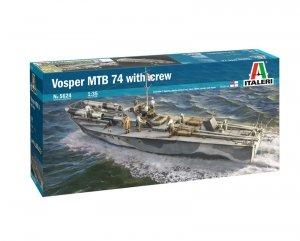Italeri 5624 Vosper 74 Torpedo Boat with crew (7 FIGURES & ACCESSORIES INCLUDED) 1/35