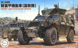 Fujimi 722986 JGSDF Komatsu Light Armored Vehicle International Peace Cooperation Activities Training Unit (IPCATng) 1/72