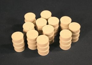 Panzer Art RE35-086 WWII French fuel drums (200L) 1/35