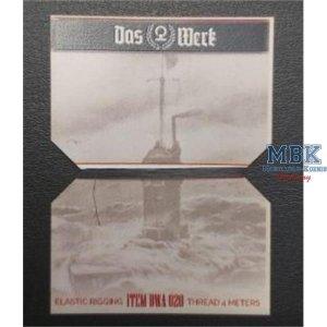 Das Werk DWA020 Elastic Rigging Thread - 4 meters 1/35