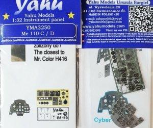 Yahu YMA3250 Me 110 C/D 1/32