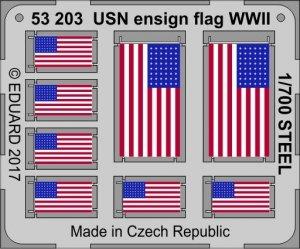 Eduard 53203 USN ensign flag WW2 STEEL 1/700