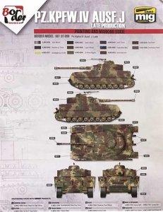 Border Model BD0034 Pz.Kpfw.IV Ausf.J Late Production Masks for Border Model BT-008 1/35