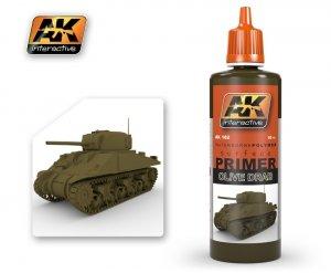 AK Interactive AK 182 Olive Drab Primer 60ml