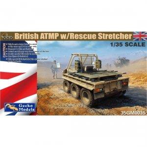Gecko Models 35GM0035 British ATMP w/Rescue Stretchers 1/35