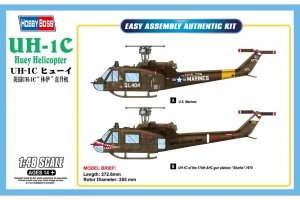 Hobby Boss 85803 UH-1C Huey Helicopter (1:48)